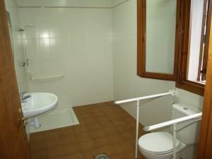 Baño de discapacitados